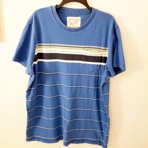 Men's XXL Aeropostale short sleeve striped shirt